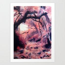 Nature's Path Art Print