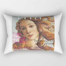 Renaissance Magazine Rectangular Pillow