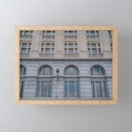 Windows Series I: Arcs and windows Framed Mini Art Print