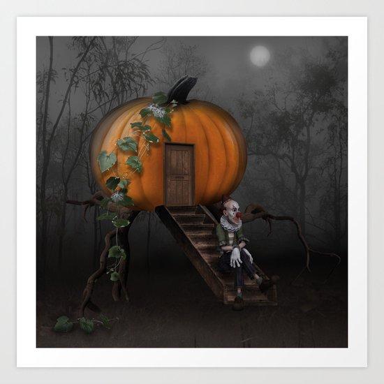 Halloween! Where is the rabbit? Art Print