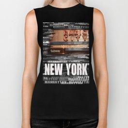 new york Biker Tank