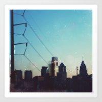 philadelphia Art Prints featuring Philadelphia by Tina Crespo