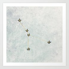 Cancer x Astrology x Zodiac Art Print