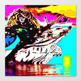 Land Goddess Redux Canvas Print