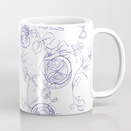BIKEPARTY TOILE CLASSIC Coffee Mug