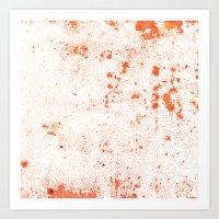 splatter Art Prints featuring Splatter by Kit4na