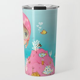 SAILOR PINK Undersea Travel Mug
