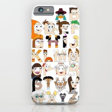 P&F Alphabet Slim Case iPhone 6s