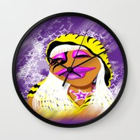 muppet Wall Clocks featuring Janice Muppet Parody by Gilles Rathé