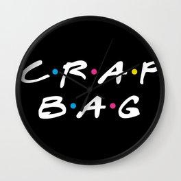 Crap Bag Wall Clock