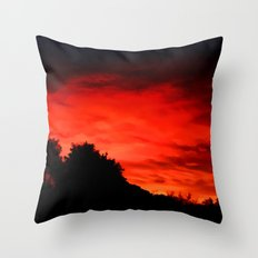 Daybreak - Painting Style Throw Pillow