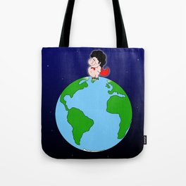 Taking over the world Tote Bag