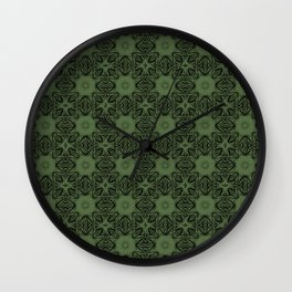 Kale Floral Wall Clock