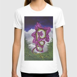 Purple Poppy Flower T-shirt