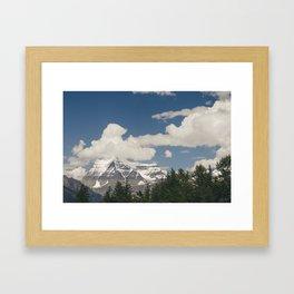 Mount Robson Framed Art Print
