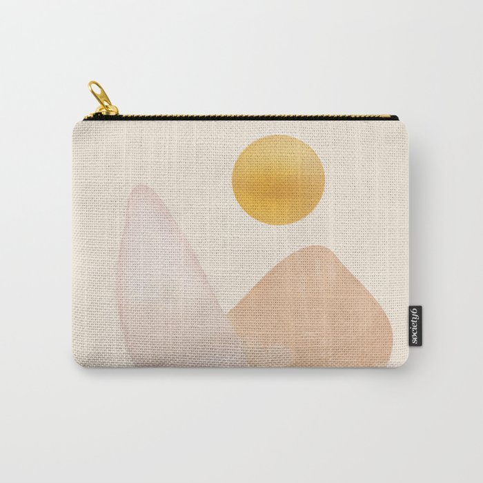 Abstact Shapes Carry-All Pouch