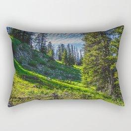Near Fairy Lake, Gallatin County, MT Rectangular Pillow