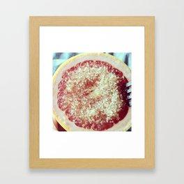 Sweet Good Mornings Framed Art Print