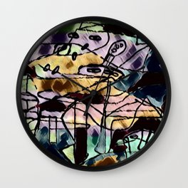 Sections Wall Clock