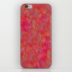 Bright Pink Cubism Abstract iPhone & iPod Skin