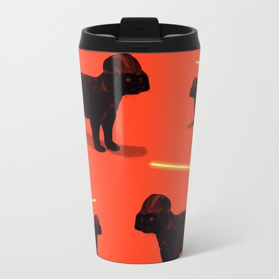 Cat Vader Metal Travel Mug
