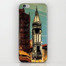 Apollo 1 Rocket iPhone Skin