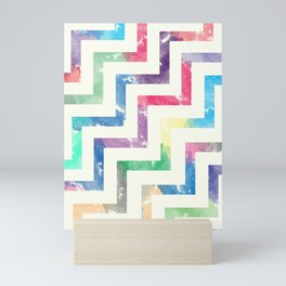 Colorful Geometric VI Mini Art Print