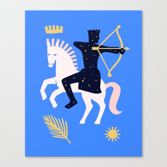 Apocalypse Horseman of Victory Canvas Print