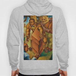 African American Masterpiece 1939 Five Great American Negroes by Charles White Hoody