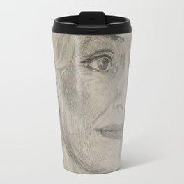 Home Decor Drawing Woman Digital Digital Sketch Modern Room Wall Art Wall Hanging Travel Mug
