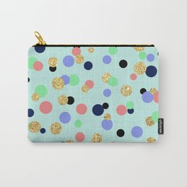 Pretty Polka Dots Carry-All Pouch