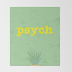 Psych! Throw Blanket