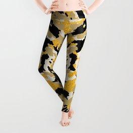 Golden Cheetah Leggings