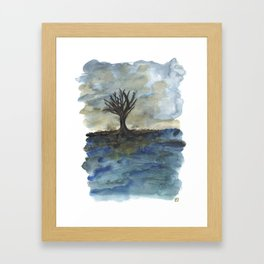 In Limbo - Heavy Weather Framed Art Print
