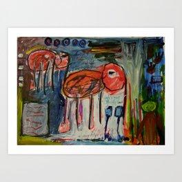 Elephantina Art Print