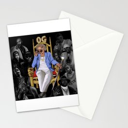 Betty White: The real OG  Stationery Cards
