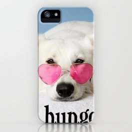 I am hungover! iPhone Case