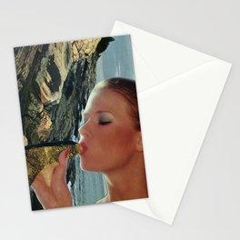 Peak H2O Peak Water  - Vintage Collage Stationery Cards