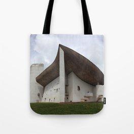 Chapelle Notre-Dame-du-Haut | Le Corbusier Tote Bag
