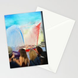 Fire Boat Stationery Cards