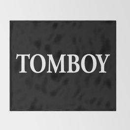 TomBoy Throw Blanket