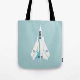 Tornado Swing Wing Jet - Sky Tote Bag