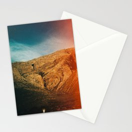 love is in the mountain Stationery Cards