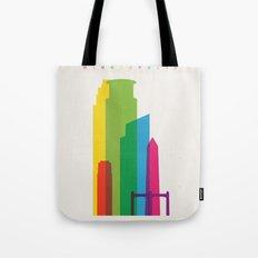 Shapes of Minneapolis Tote Bag