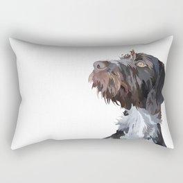 German Wirehaired Pointer Rectangular Pillow