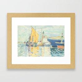 Venice The Giudecca by Henri-Edmond Cross 1903, French Framed Art Print