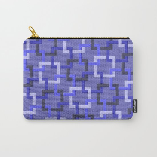 Linked Squares Carry-All Pouch
