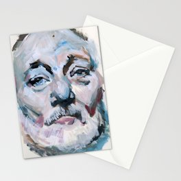 Abstract Bill Murray Stationery Cards