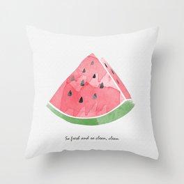 So Fresh and so Clean, Clean Throw Pillow