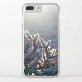 Arizona Cactus Clear iPhone Case